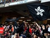 فى هونج كونج.. السياسة تترك تداعياتها على ملاعب كرة القدم
