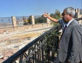 صور.. محافظ أسوان يتابع أعمال تنفيذ محور بديل الخزان بتكلفة 2 مليار جنيه