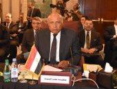 وزير الخارجية: مشاورات عربية بشأن توقيت عودة سوريا إلى الجامعة العربية