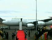 شاهد ..البابا فرنسيس يغادر مدغشقر فى ختام جولته الأفريقية
