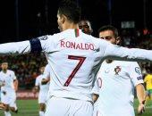 صحف إيطاليا تحتفل برباعية كريستانو رونالدو مع منتخب البرتغال..فيديو