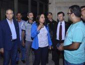 محافظ دمياط تقود حملة لرفع الإشغالات برأس البر