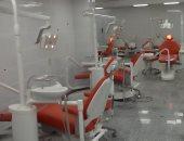 صور.. رئيس جامعة عين شمس يفتتح عيادات ووحدة تعقيم مركزى بكلية طب الأسنان