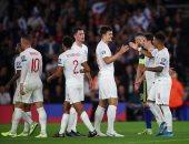 """إنجلترا ضد كوسوفو.. الأسود الثلاثة يحافظ على الصدارة بمهرجان أهداف """"فيديو"""""""