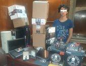 سقوط شخص يمارس القرصنة ويجرى عمليات شراء عبر الإنترنت بالإسكندرية