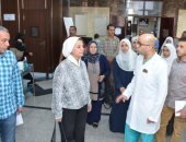 صور.. جامعة أسيوط تتابع استعدادات كلية طب الأسنان للعام الدراسى الجديد