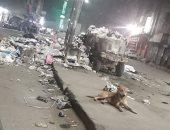 قارئ يشكو من انتشار القمامة بشارع ترعة السواحل الوراق محافظة الجيزة