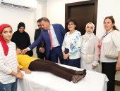 صور.. رئيس جامعة عين شمس يفتتح الجناح التعليمى لقسم القلب بمستشفى الباطنة