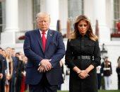 ترامب وميلانيا ودقيقة حداد على ضحايا 11 سبتمبر فى ذكراهم الـ18