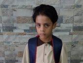 فى أول يوم دراسة.. أسامة يشارك بصورة ابنه آسر فى الصف الأول الابتدائى