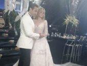 أول صور من حفل زفاف أحمد فهمى وهنا الزاهد