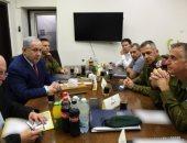 نتنياهو يعقد اجتماعا بوزارة الدفاع بعد هروبه من تجمع انتخابى أثر قصف صاروخى