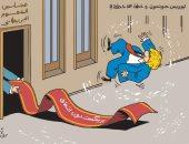 كاريكاتير الصحف الإماراتية.. يسخر من جونسون بطرده من العموم البريطانى