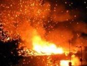 انفجار مدوى فى مستودع للجيش التركى بقبرص الشمالية