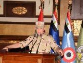 رئيس الأركان يلتقى أبطال الجيش الثانى ويتفقد المجرى الملاحى لقناة السويس