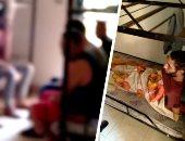 """فيديو وصور.. """"مصحات بير السلم"""".. مفاجآت فى تحقيقات النيابة لـ""""فيلا أبو النمرس"""": عملية الاقتحام كشفت عن وجود 60 شابًا بعضهم موثقى الأيدى.. وقانونى يؤكد: العقوبة تصل للحبس 5 سنوات و200 ألف جنيه غرامة"""