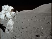 شاهد.. رائدا فضاء يستبدلان بطاريات فى الهيكل الخارجى لمحطة الفضاء الدولية