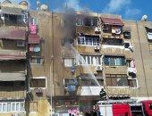 النيابة تنتدب المعمل الجنائى لمعاينة حريق شقة فى الجمالية