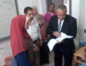 وكيلا التعليم بجنوب سيناء والإسماعيلية يتفقدان المدارس خلال ثانى أيام الدراسة