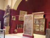 شاهد.. جولة داخل المتحف المصرى بالتحرير خلال أعمال تطويره.. فيديو