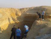 الاستعانة بمعدات حفر ثقيلة لاستخراج جثة شاب لقى مصرعه خلال التنقيب عن الآثار