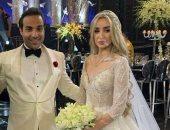 فيديو.. لقطات لم تنشر من كواليس الاستعداد لحفل زفاف هنا الزاهد وأحمد فهمى