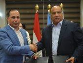 صور .. بروتوكول تعاون بين الاتحاد السكندرى و رابطة النقاد الرياضيين