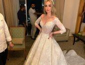 فيديو وصور.. لحظة دخول أحمد فهمى وهنا الزاهد وأول رقصة للعروسين