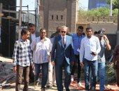 محافظ قنا يتابع أعمال ترميم قصر الأمير يوسف كمال