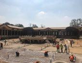 شاهد.. قصر محمد على بشبرا أثناء عملية ترميمه وتطويره