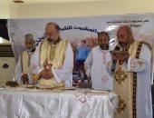صور.. بطريرك الكاثوليك يترأس القداس بمؤتمر المسيح يحيا