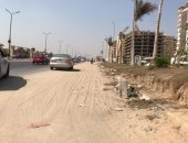 استمرار معاناة سكان شارع آل عثمان بمدينة نصر بسب عدم الرصف
