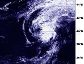"""ناسا تلتقط صورة لإعصار """" فكساي"""" خارج المناطق الاستوائية فى المحيط الهادئ"""