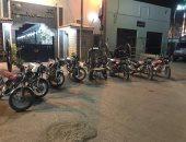 ضبط تشكيل عصابى تخصص فى سرقة الدراجات البخارية فى أسيوط