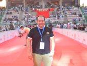 صور.. الاستعدادات النهائية لحفل تامر حسنى فى ستاد القاهرة