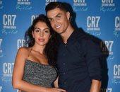 """كريستيانو رونالدو يحتفل بــ""""العطر الجديد"""" مع جورجينا"""
