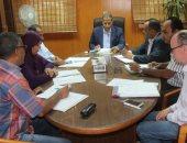 رئيس جامعة الأقصر يناقش مع أعضاء المجلس إستعدادات العام الجامعى الجديد