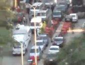 قارئ يشكو من انتشار المقاهى بمنتصف شارع أحمد زكى فى المعادى