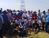 صور.. أعضاء مركز الأرز الإفريقى يتفقدون مركز بحوث سخا بكفر الشيخ