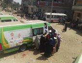 محافظ دمياط تعلن الكشف على 2300 مواطن بمنشية ناصر
