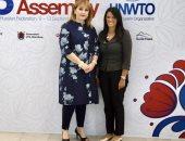 الدكتورة رانيا المشاط تلتقى الرئيس التنفيذى للمجلس الدولى للسياحة  WTTC
