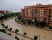 الفيضانات تٌغرق شوارع مدينة موخينتى بإسبانيا