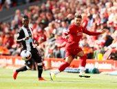 فيديو.. فيليمز يسجل أول أهداف نيوكاسل يونايتد ضد ليفربول