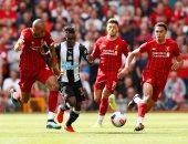 فيديو.. ساديو ماني يسجل هدف تعادل ليفربول ضد نيوكاسل يونايتد