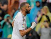 """كريم بنزيما يدخل تاريخ ريال مدريد من بوابة """"سانتياجو برنابيو"""".. فيديو"""