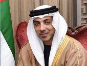 منصور بن زايديزور مصابى القوات المسلحة الإماراتية