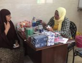 فحص قلب 200 مواطن فى فاقلة طبية بقرية سنهوت فى الشرقية