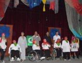 عرض مسرحى لذوى الاحتياجات الخاصة على مسرح الهواه بالإسكندرية