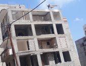 إزالة أبنية مخالفة ورفع 400 طن قمامة فى محافظتى الإسكندرية والقليوبية
