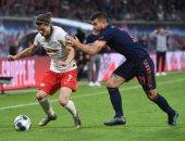 بايرن ميونخ يسقط فى التعادل أمام لايبزيج بالدوري الألماني.. فيديو